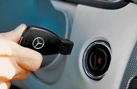 Ремонт замка зажигания Mercedes W164 GL/ML